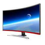 34inch WQHD LED Curved Monitor 60hz